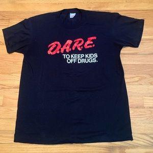 VTG D.A.R.E. To Keep Kids Off Drugs T-Shirt USA